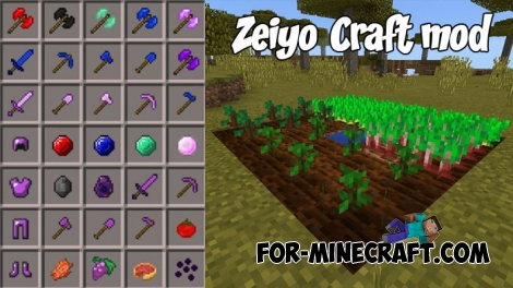 Zeiyo Craft mod for Minecraft PE (IC)