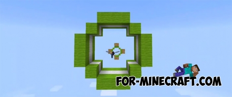 Elytra Parkour 3 map for MCPE 1.2