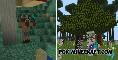 Twilight Forest addon for Minecraft PE 1.2