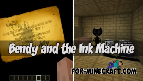 Bendy and the Ink Machine map for MCPE