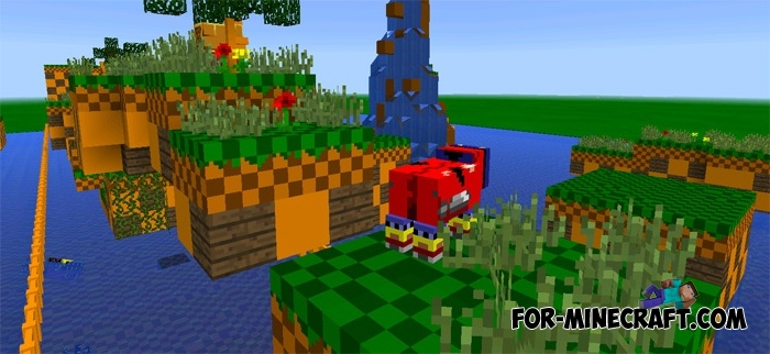 Sonic Adventure Map For Mcpe 1 2 Bedrock