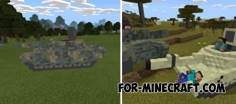 Top 5 Tanks for Minecraft PE