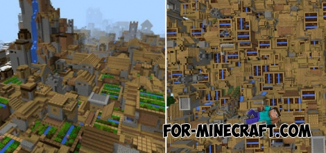More Villages mod for Minecraft PE