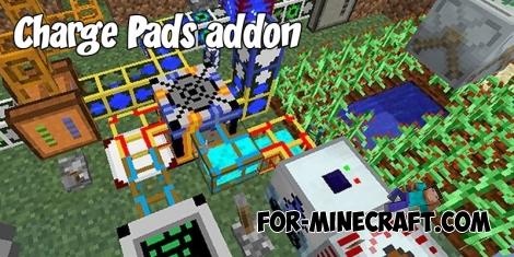 Charge Pads addon v 2.0 (Especially for Industrial Craft PE)