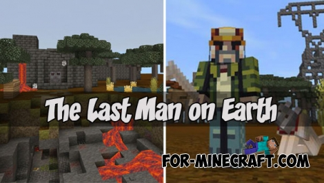 The Last Man on Earth map for MCPE 1.2.5+
