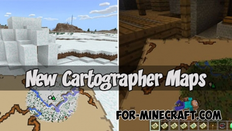 New Cartographer Maps for Minecraft PE (Bedrock)