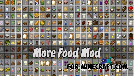 More Food Mod for Minecraft PE - Bedrock