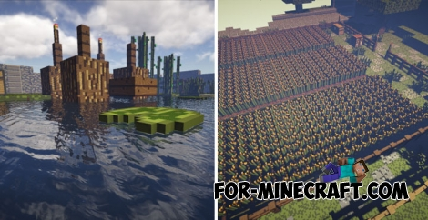 A giant World (Scale 16:1) map for Minecraft PE
