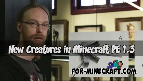 New Creatures in Minecraft PE 1.3 / 1.4 (Mob A)