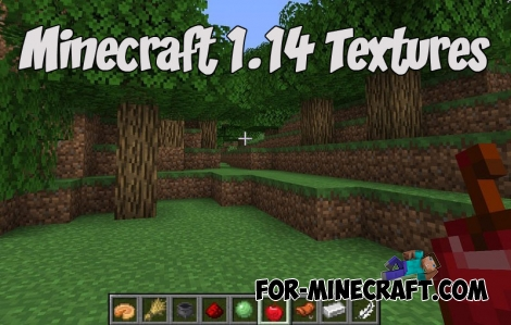 Minecraft 1.14 Textures in MCBE (MCPE)