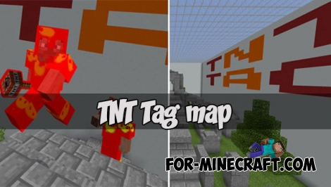 TNT Tag map for Minecraft PE 1.2