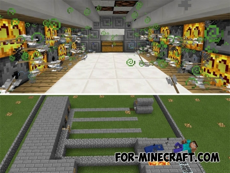 Redstone Creations map (Minecraft PE)