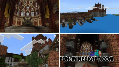 King's Landing map (GOT) for Minecraft PE