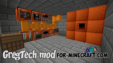 GregTech mod v5 for Minecraft PE Bedrock