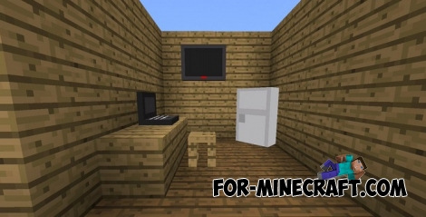 Some Furniture addon for MCPE 1.X