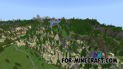 Apterra map for MCPE 1.X