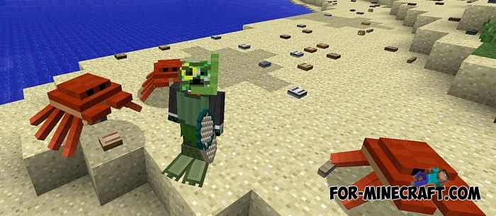 Oceancraft pe addon for minecraft pe 1 2 for How to fish in minecraft pe