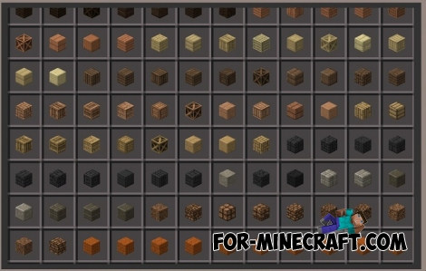 Chisel mod for MCPE Bedrock