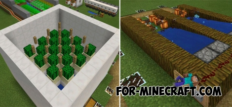 Automatic Farms Pack (MCPE 1.1/1.2)