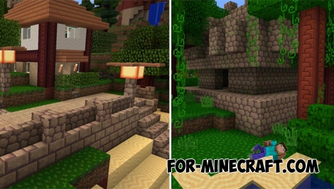 Flourish texture pack for Minecraft PE