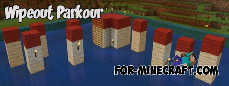 Wipeout Parkour (Minecraft PE 1.2)