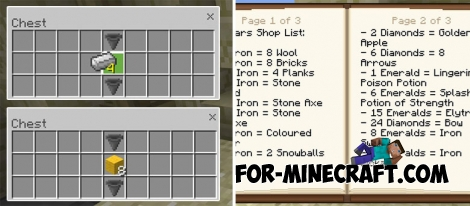 BedWars map for Minecraft PE Bedrock 1.2.5+