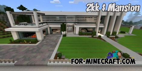 $2KK Mansion for Minecraft PE 1.2.7+