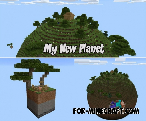 My New Planet map for MCPE