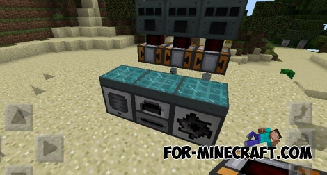 Thermal Expansion mod Beta 4 (Minecraft PE)