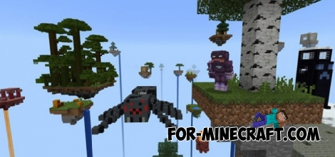 Creative Survival map for Minecraft PE 1.2
