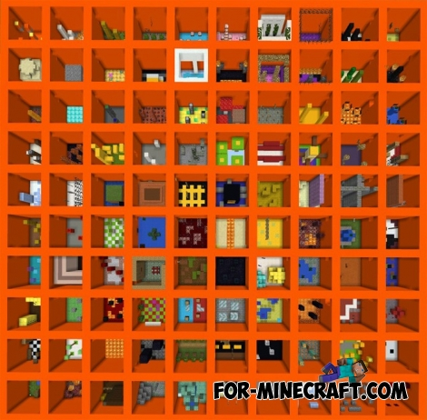 The Orange map for MCPE 1.X