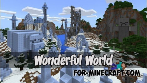 Wonderful World for MCPE 1.2