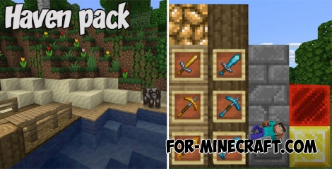 Haven pack for Minecraft PE 1.X