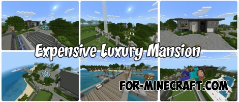 Expensive Luxury Mansion for Minecraft PE 1.2.9