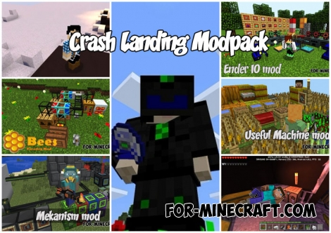 Crash Landing Modpack (14 in 1!)