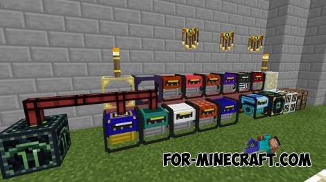 Extra Utilites PE mod for Minecraft PE