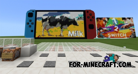 Nintendo Switch for Minecraft BE 1.2
