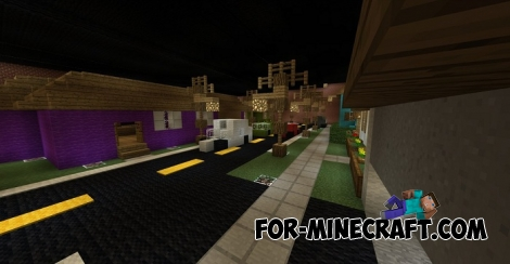 Lethal Battle map for Minecraft 1.2