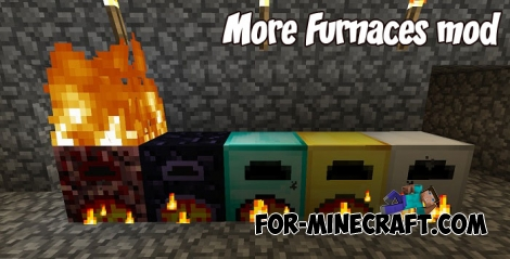 More Furnaces mod for Minecraft PE