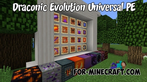 Draconic Evolution Universal PE mod for Minecraft PE