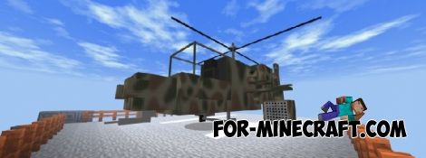Helicopter addon for MCPE 1.2