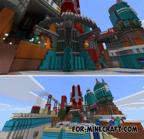 World of Chemistry map for Minecraft Bedrock