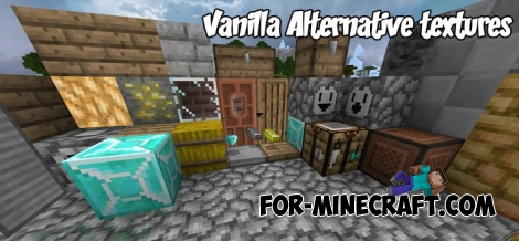 Vanilla Alternative textures (Minecraft 1.2)