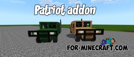 Patriot addon for Minecraft Bedrock
