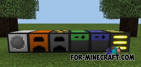 Radiation Craft mod v1.1 for MCPE