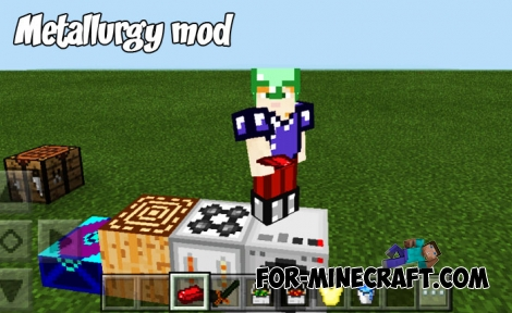 Metallurgy mod for Minecraft BE