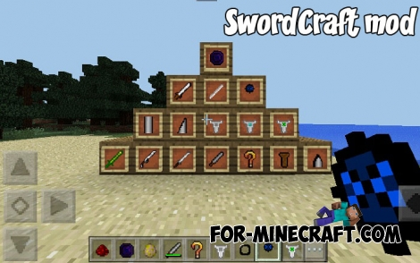 SwordCraft mod for MCPE