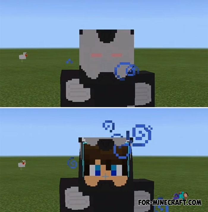 Project Superhuman PE Mod V For Minecraft PE X - Skins para minecraft pe quiksilver