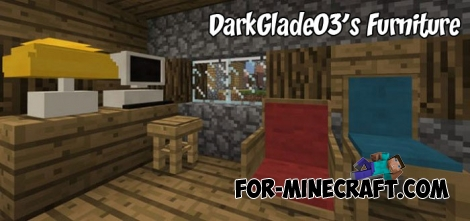 DarkGlade03's Furniture addon v3 for MCPE 1.2