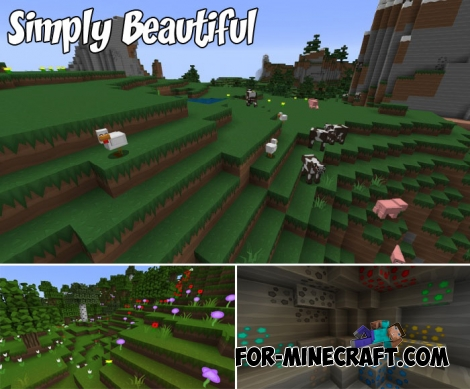 Simply Beautiful textures for Minecraft PE